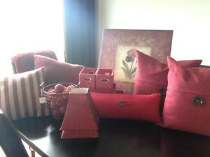 Beautiful Red Decor Package