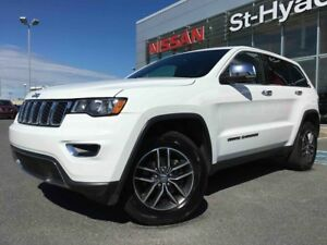 2017 Jeep Grand Cherokee 4X4 LIMITED CUIR TOIT OUVRANT JAMAIS AC