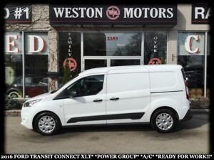 2016 Ford Transit Connect XLT*POWER GROUP*A/C*READY FOR WORK!!!*