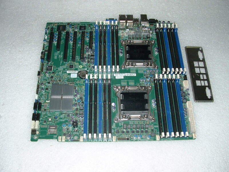 SUPERMICRO X9DRi-LN4F+ Rev 1.1 ATX  LGA2011 Motherboard