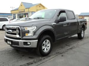 2016 Ford F-150 XLT SuperCrew 4x2 6ft Box 5.0L