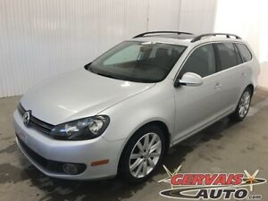 2013 Volkswagen Golf wagon TDI Highline Mags Toit panoramique Cu