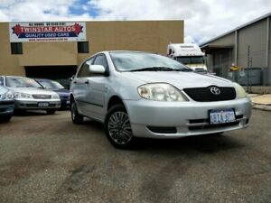 2003 Toyota Corolla ZZE122R Ascent Seca Silver 5 Speed Manual Hatchback Malaga Swan Area Preview