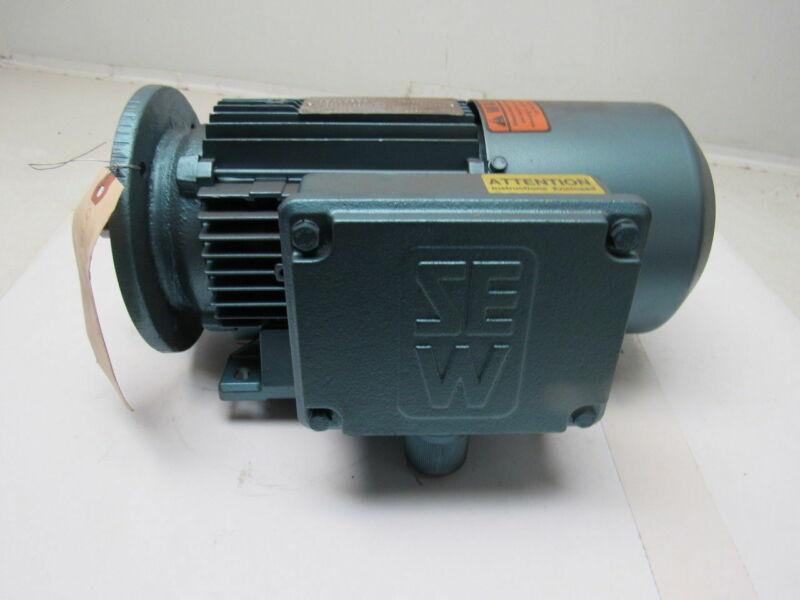 SEW-EURODRIVE DT80N4FBMG1HR 1Hp Electric Brake Motor 230/460V 3Ph 60Hz