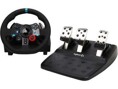 Logitech G29 Driving Force Racing Wheel for PS4, PS3, PC...
