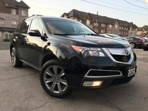 2012 Acura MDX Elite Pkg|Acciden Free|One Owner|Navi|Leather|