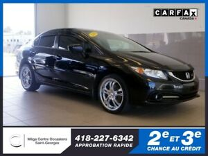 2014 Honda Civic Sedan Si / toit / manuel / mag