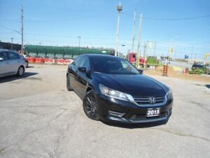 2015 Honda Accord AUTO NO ACCIDENT  LEATHER H SEATS, R CAM, B TO