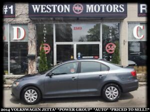 2014 Volkswagen Jetta POWER GROUP*AUTO*PRICED TO SELL!!*