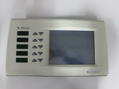 Alcon Accurus 202-1511-501 H Top Front Panel Display Assembly Phacoemulsifier