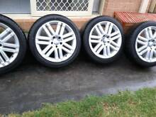 """17"""" Wheels and Tyres 245/45R17 Dandenong South Greater Dandenong Preview"""