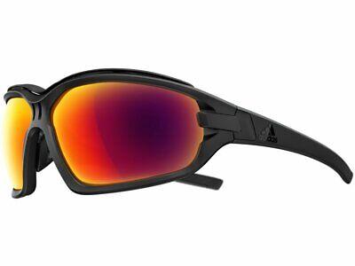 Adidas Evil Eye Evo Pro AD0975 9200 Large Black Matte/Red Sunglasses (Sunglasses Adidas)