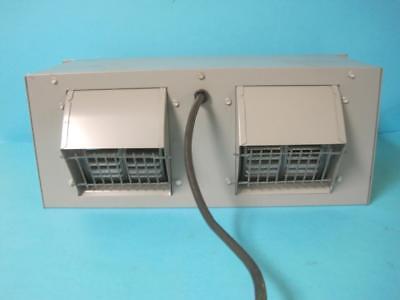 Kooltronic Kp711a Rackmount Twin Blower Fan Unit 115v 5060hz Markviii Gray