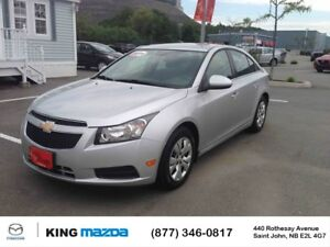 2014 Chevrolet Cruze 1LT...TURBO! SATELLITE RADIO! ONE OWNER! CL