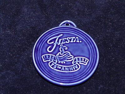 Fiesta (New) Christmas Ornament 75th Anniversary Cobalt