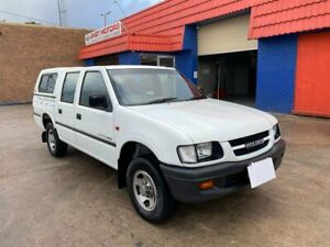 1999 Holden Rodeo TF R9 LT Crew Cab 4x2 White 4 Speed Automatic Utility