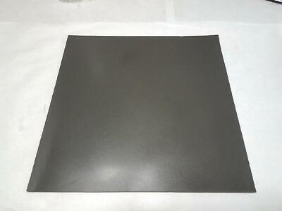 12x12 Dark Gray Silicone Rubber Sheet Self Adhesive High Temp 2mm - 1lb 4oz