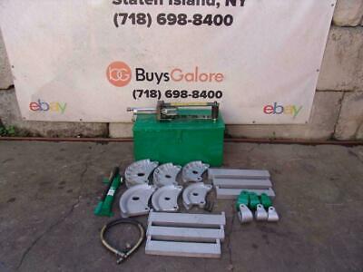 Greenlee 882 Hydraulic Bender 1 14 To 2 Inch Emt Rigid Conduit Pipe Great 2