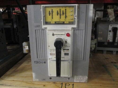 Ge Powerbreak Tpss6612dgba3 1200a 3p 600v Mo/do Circuit Breaker W/ Lsg Used E-ok