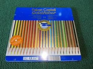 24 Faber-Castell Goldfaber Coloured Pencils in tin box NEVERUSED Altona Meadows Hobsons Bay Area Preview