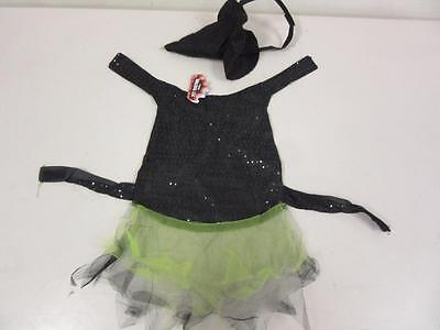 Pet Halloween Costume Witch Dress with Hat for Dog or Cat Size Small](Witch Costume For Dogs)