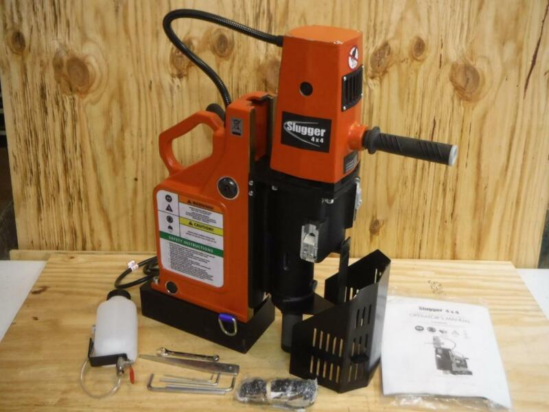 "New Jancy Slugger JMU 4 x 4 Magnetic Drill Press 120 Volt 4"" Capacity fast ship"