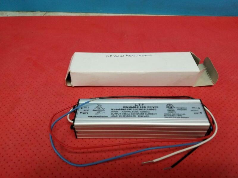 L.T.F. DA26W700C2038LI-0000 Dimmable LED Driver