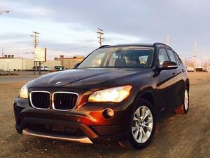 Magnetic brown BMW X1 low kms good on gas
