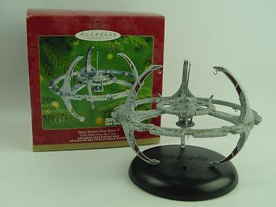 NEW IN BOX Space Station Deep Space 9 Hallmark Ornament Star Trek