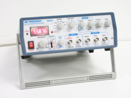 BK PRECISION 4003A 4 MHZ FUNCTION GENERATOR WITH COUNTER