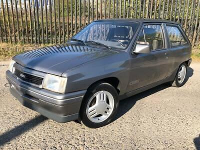Vauxhall NOVA Mk1 GTE Grey (Opel Corsa A GSI) 1988