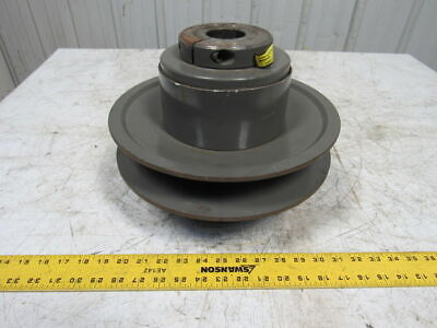 T.b. Woods Mcs-12s Two Flange Moveable Variable Pulley Sheave 1-78 Bore