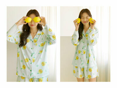 Kakao Friends Lemon Terrace Pajama Women Free Size Sleepwear Set Ryan