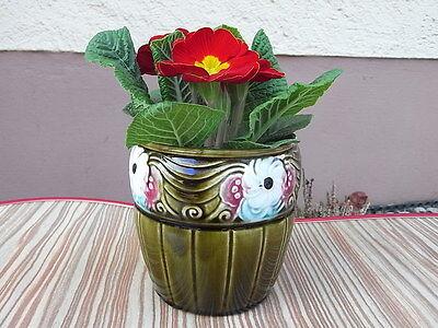 Orhtes ~ Übertopf Design Blumentopf ~ Art Deco Blumen Dekor Cachepot °