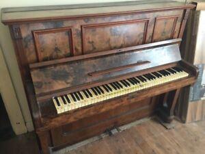 Free Upright Piano - Needs Love