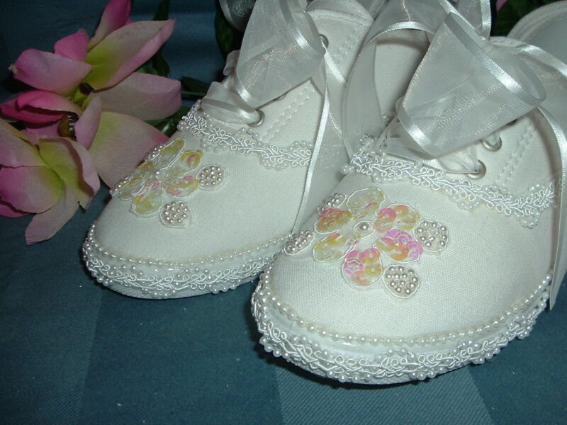 "Wedding Shoes Bridal Sneakers  "" EMMA """