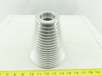 6 Od -2-38 19 Groove Step Cone Pulley Textile Material Separating Sheave