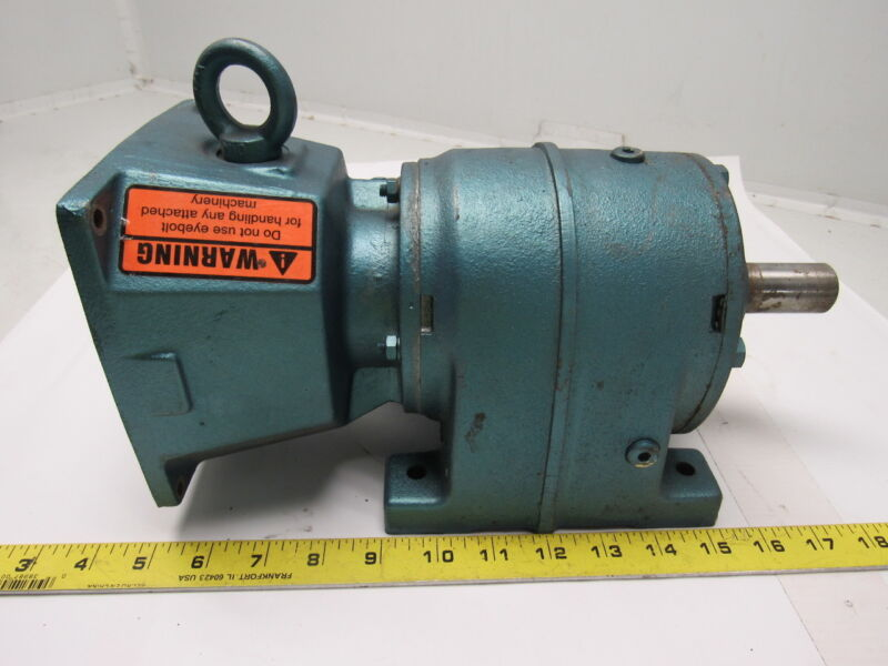 SEW-EURODRIVE R40D16DT71D4 In Line Gear Box Speed Reducer 21.61:1 Ratio