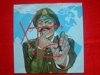 """XTC- Generals And Majors Dutch 7"""" 45 single Virgin 1980 Picture Sleeve Free P&P"""