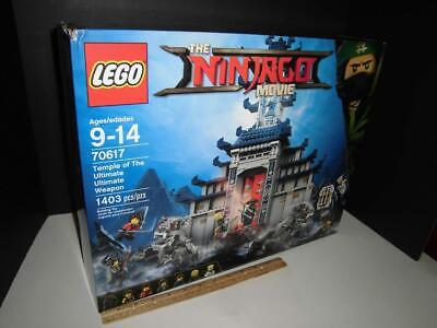 Ninjago Movie Temple Ultimate Weapon - Lego 70617 - Sealed Box - 1403 Pieces
