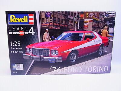 82606 | Revell 07038 `76 Ford Torino Modellauto 1:25 Bausatz NEU in OVP