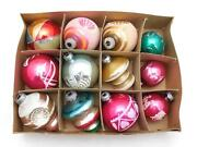 Antique Box Christmas Ornaments