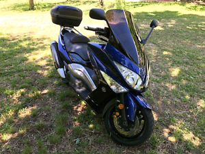 Yamaha TMAX 2008 Blue Perfect Riding Sydney City Inner Sydney Preview