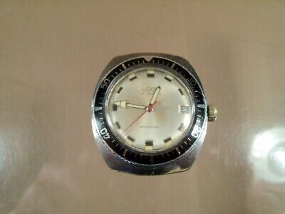 "VERY NICE ""LUXOR"" DIVERS STYLE WRIST WATCH (1960's?) (VINTAGE DIVERS WATCH)"