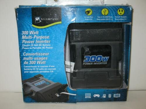 MOBILE SPEC Ms300w 300 Watt Multi-purpose Dc-ac Power Inv...