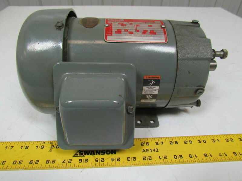 Lincoln Electric D-AF5227C1 1Hp 1150RPM TEFC R145TC 230/460 Electric Motor