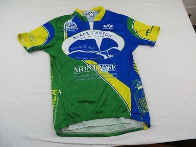 Voler Mens Black Canyon Bike Cycling Jersey Shirt Sz Medium Airies Micro USA 3cfb17e25
