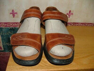 Josef Seibel Ladies Sandals - Size 40 - Tan