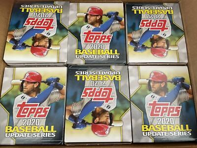 2020 Topps Update Baseball Factory Sealed 6 Box Gravity Case