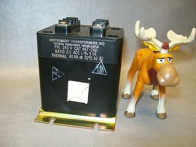 467-240 Instrument Transformers Inc. Potential Transformer 21 Ratio